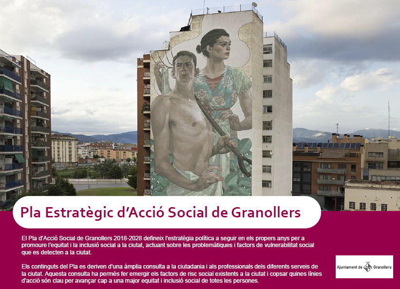 Granollers aprova el Pla d'Acció Social 2018-2028 per fer una ciutat més inclusiva i equitativa
