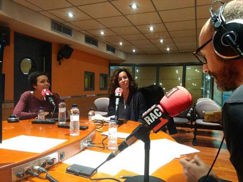 Raquel Moreno va participar al programa de ràdio 'No ho sé' de RAC1