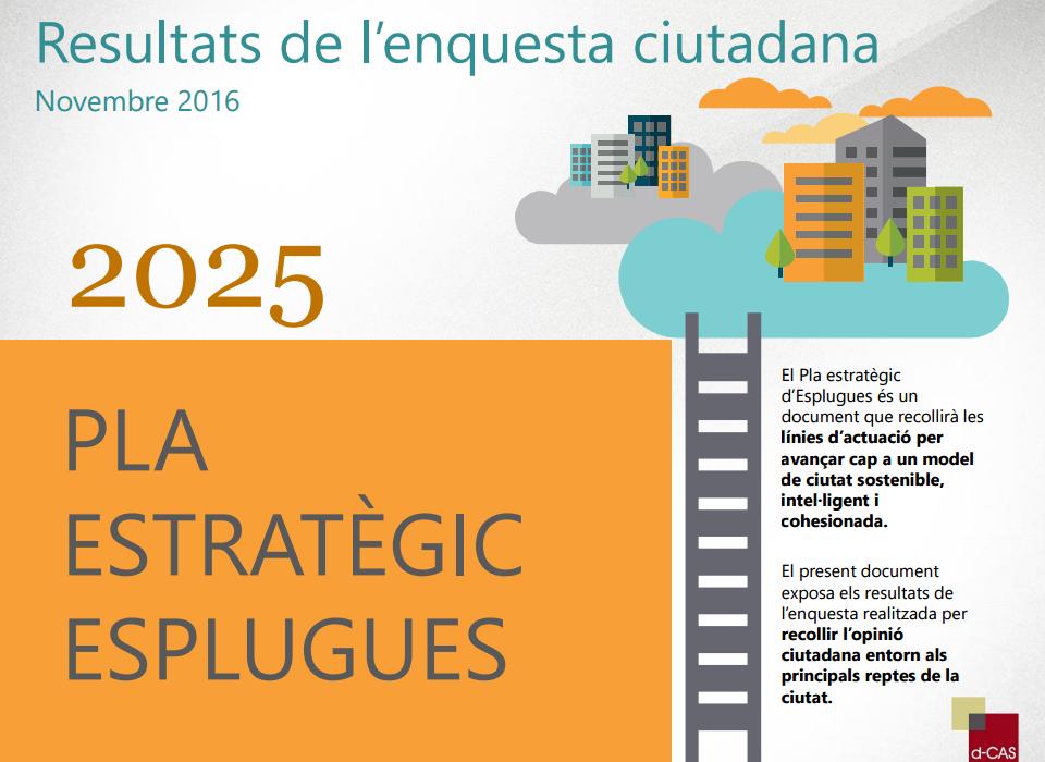 Resultats de l'enquesta del Pla Estratègic Esplugues 2025