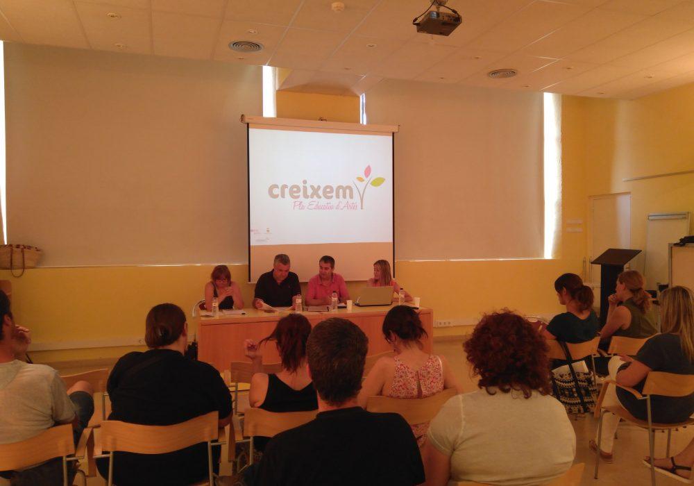 Presentació de 'Creixem' – Pla Educatiu d'Artés