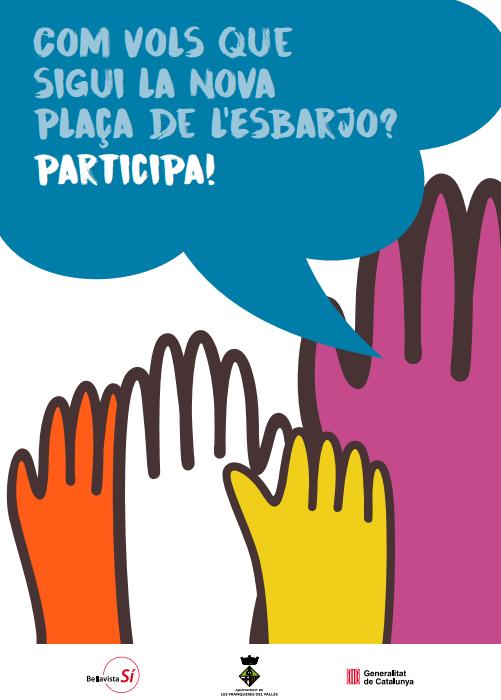 Procés participatiu per a la renovació de la Plaça de l'Esbarjo a Les Franqueses del Vallès