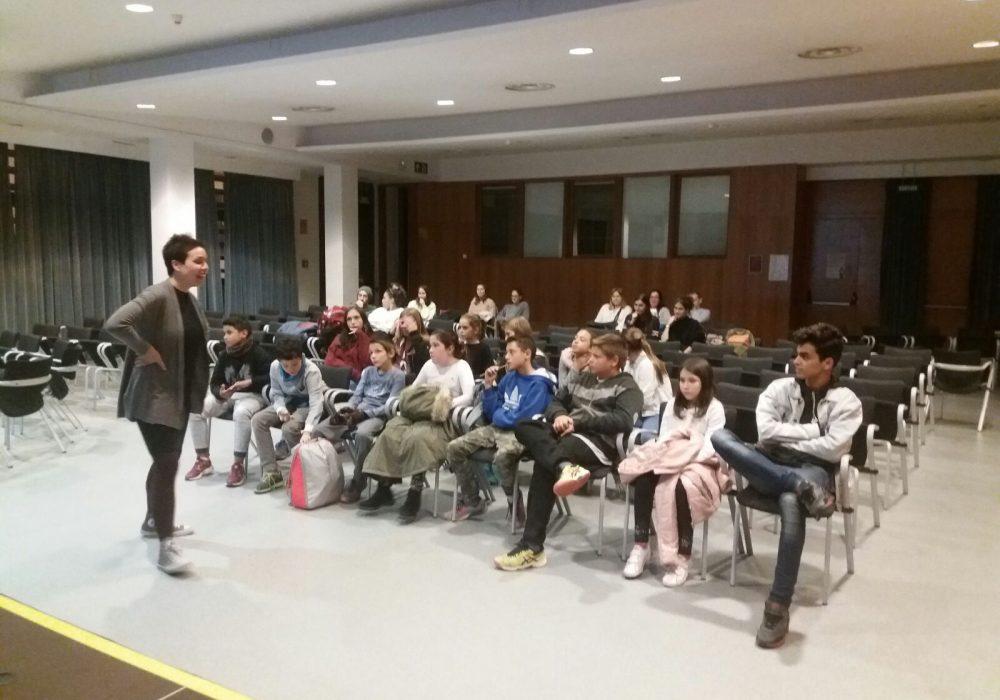 Taller participativo con niños en Sabadell para el plan de acción del PLIA