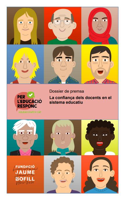 Enquesta a docents i famílies sobre el sistema educatiu: edubarometre.cat – Per l'educació responc