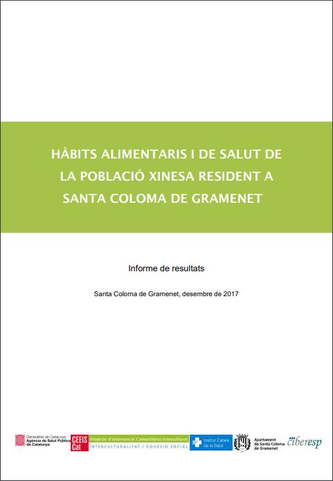 Publicación del estudio sobre hábitos de salud de la población china en Santa Coloma de Gramanet