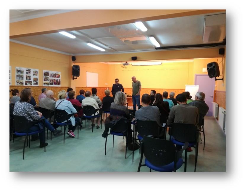Jornada participativa per a la definició de l'espai de la Valentine al barri de la Ribera a Montcada