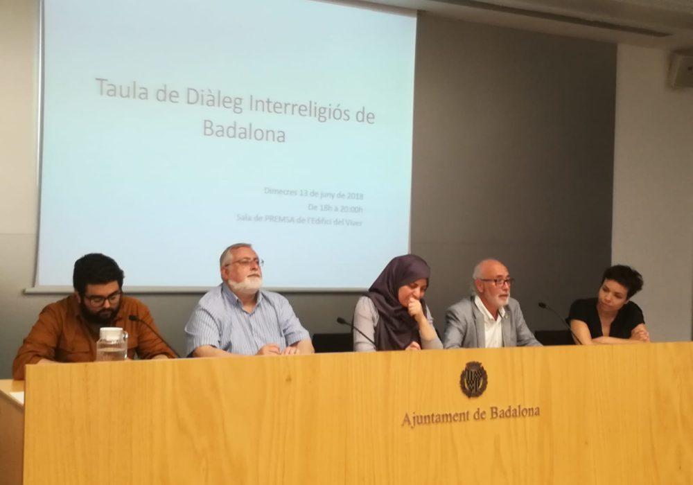 Presentación de la Mesa de Diálogo Interreligioso de Badalona