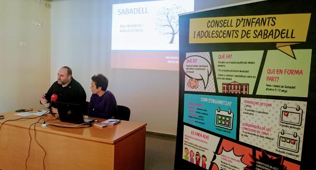Presentación del Plan Local de Infancia y Adolescencia de Sabadell