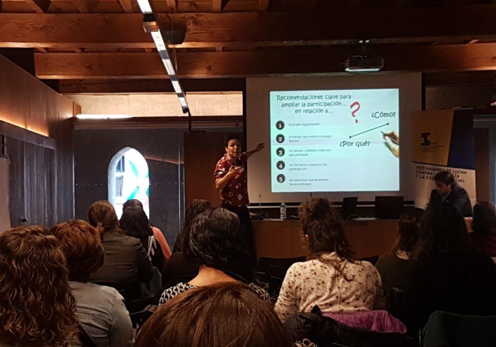 Participación en las Jornadas Red Pobreza en Pamplona