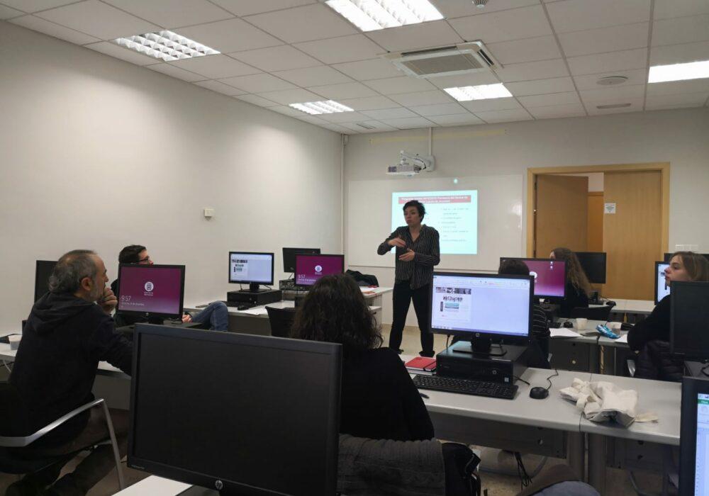 Primera jornada de formació per l'ús del Gestor de Projectes