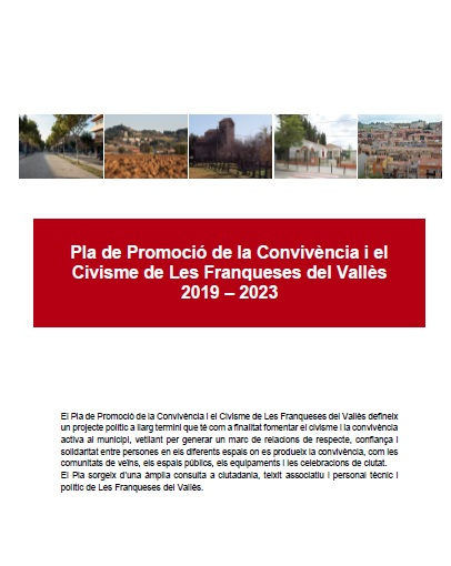 Aprovació del Pla de Promoció de la Convivència i el Civisme a les Franqueses del Vallès