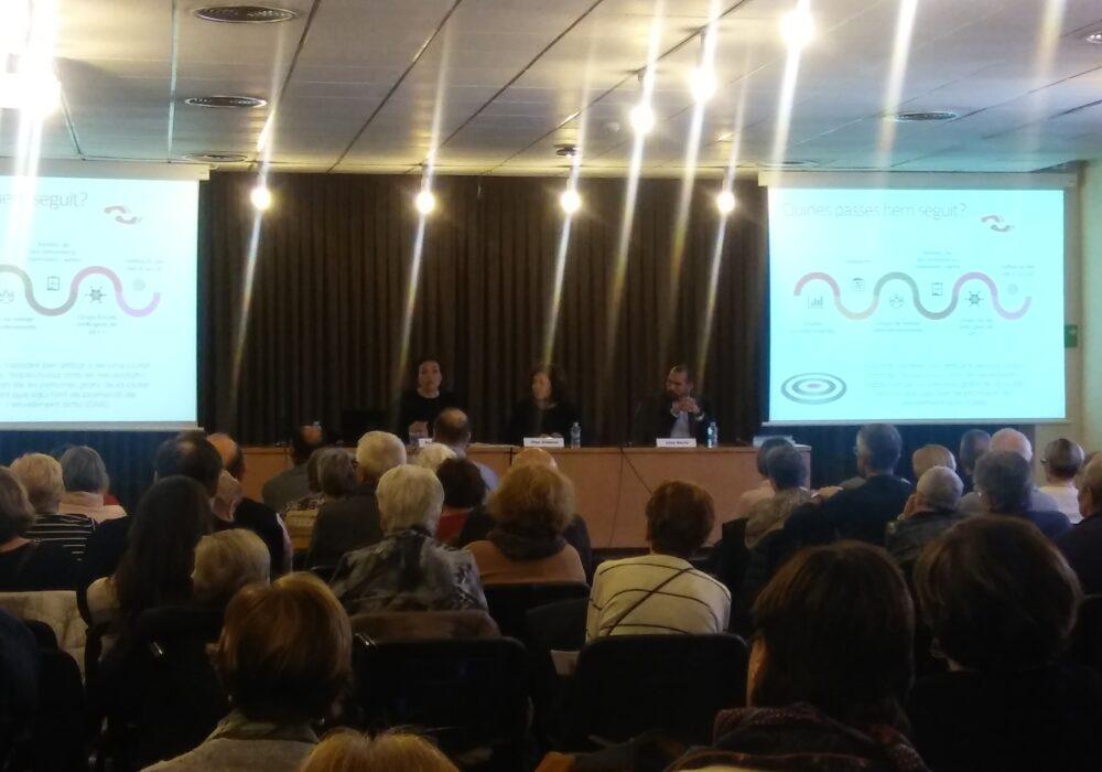 Presentació del Pla 60 i + de Sabadell