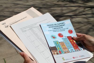 Comienza la implementación del Plan de promoción de la convivencia en Les Franqueses del Vallès elaborado por d-CAS