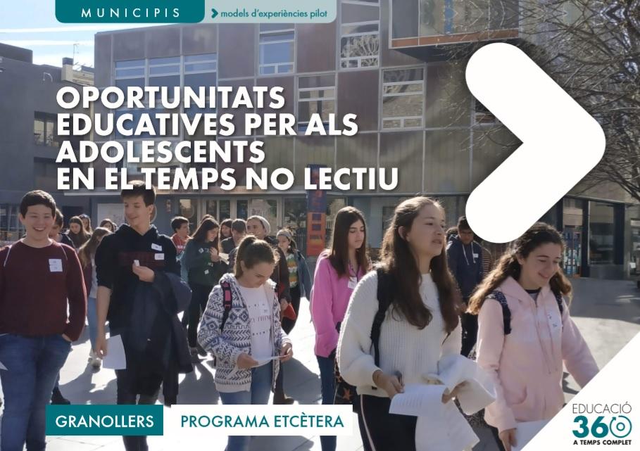 D-Cas acompanya a Granollers i Sabadell en els seus pilotatges d'Educació 360
