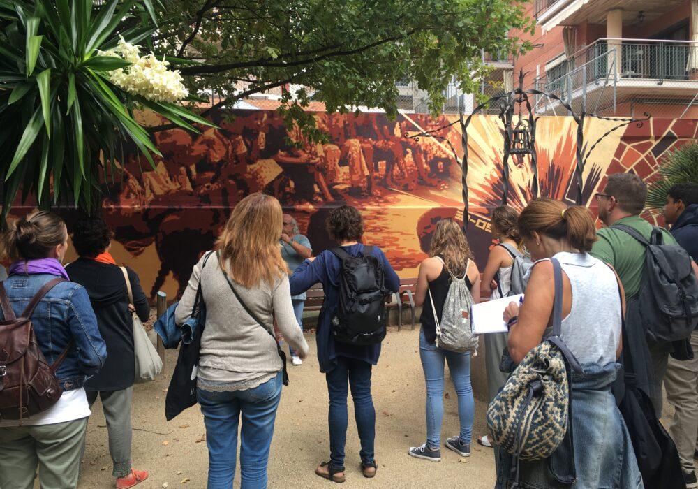 """Coneixem l'experiència a Granollers amb el projecte """"Murs que Parlen"""""""