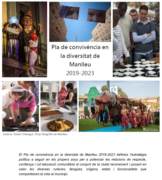 S'aprova el Pla de convivència en la diversitat de Manlleu