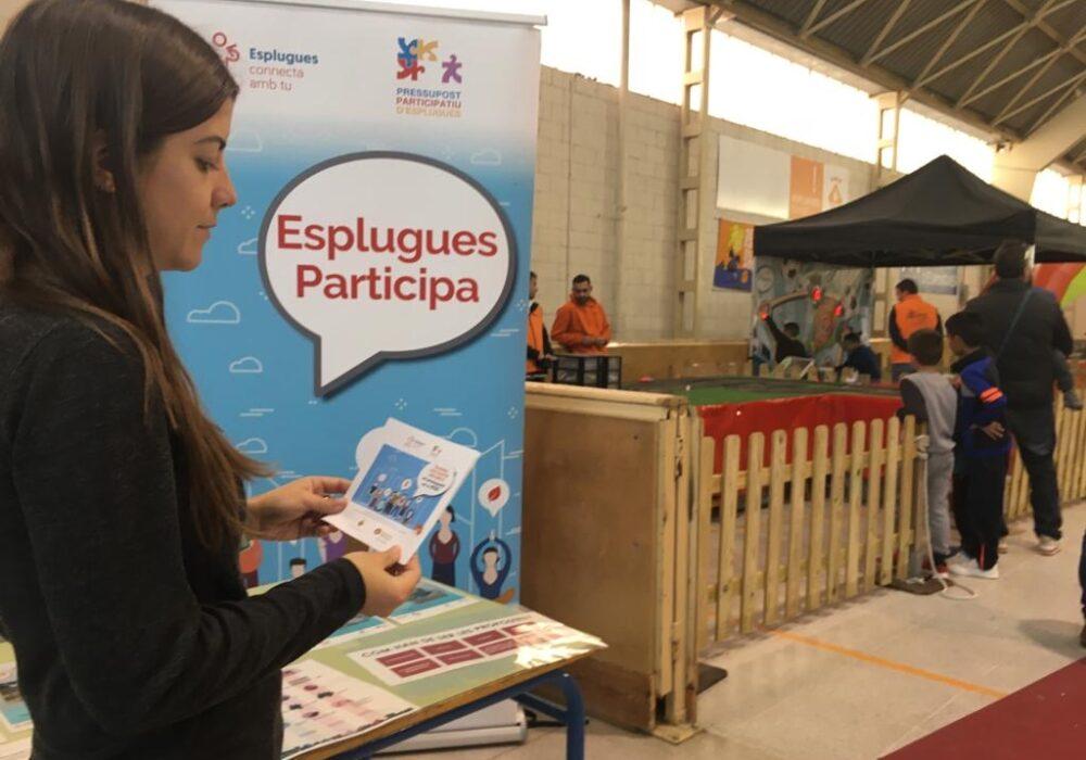 Motors engegats per la 7a edició del Pressupost Participatiu a Esplugues