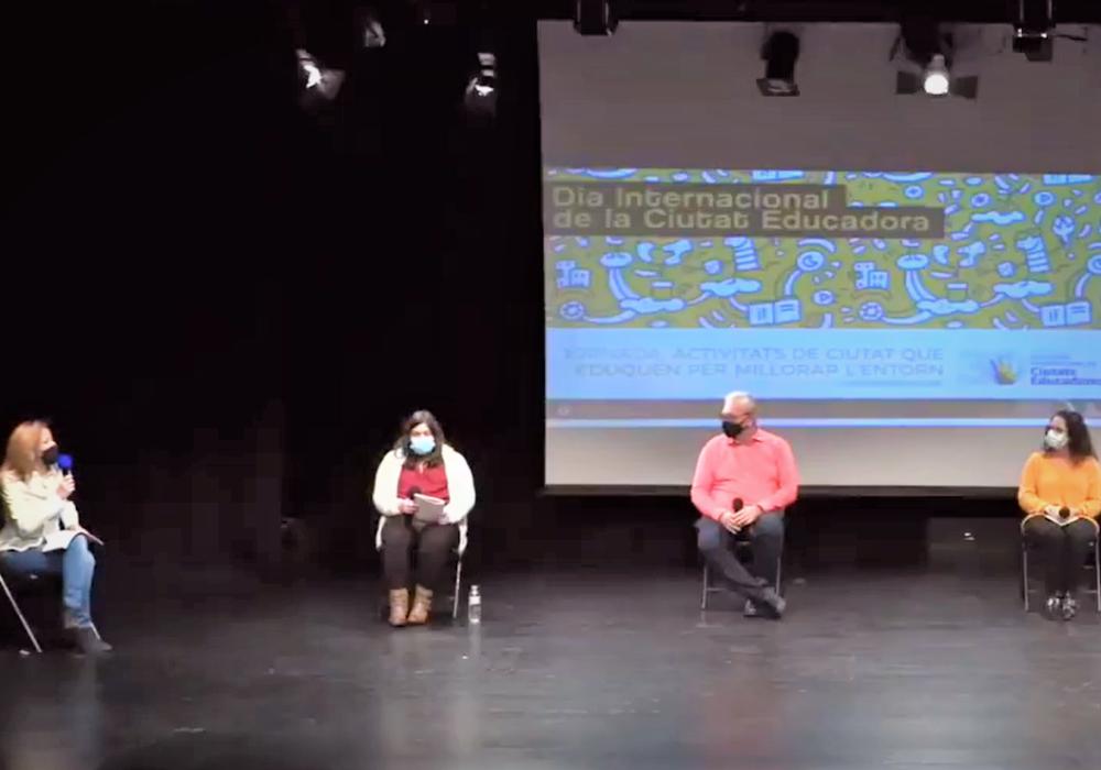 Participamos en la conmemoración del día internacional de las ciudades educadoras